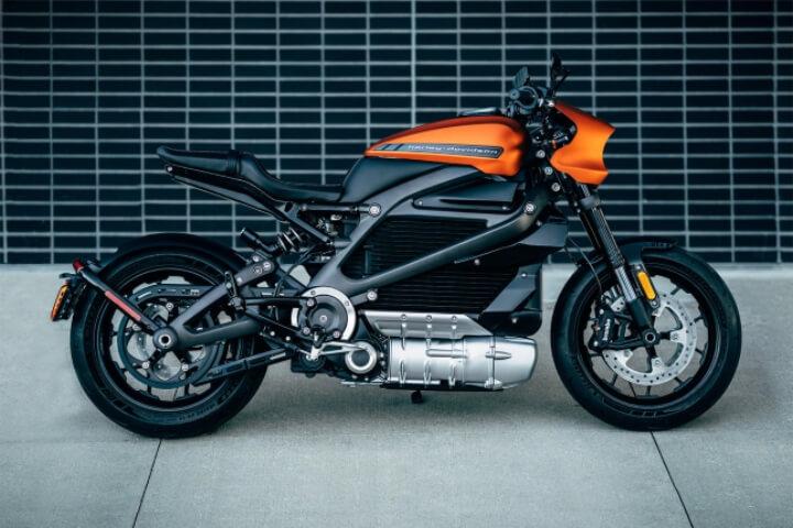 De elektrische motor Harley Davidson LiveWire