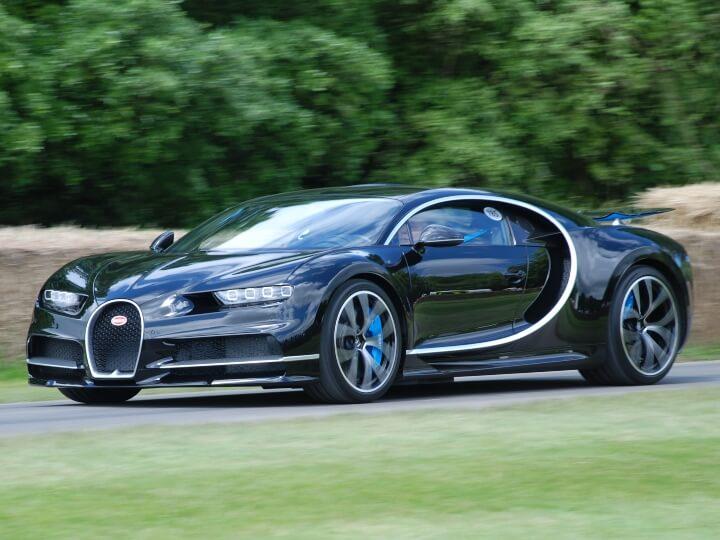 De Bugatti Chiron